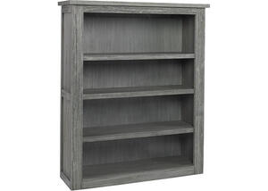 Lucca Weathered Gray Bookcase by Dolce Babi