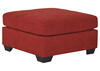 Marlo 3 Pc Laf Sectional Red The Roomplace