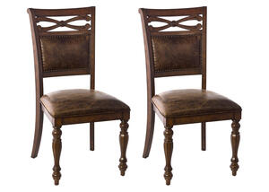 Seaton Springs 2 Pc Dining Chair Set