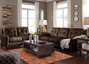 Kassidy Brown 3 Pc. Living Room