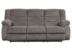 Talen Gray Reclining Sofa
