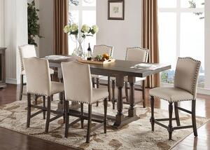 Riley 5 Pc Dining Room W Upholstered Chairs