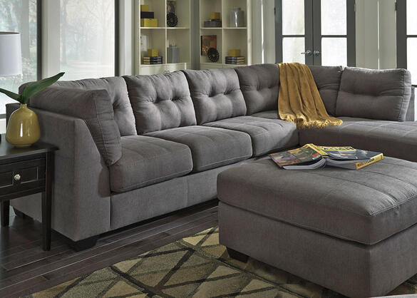 MARLO 3 PC LAF SECTIONAL CHARCOAL