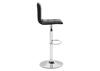 Oxygen Black Bar Stool