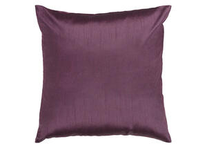 Solid Luxe Throw Pillow Purple