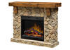 Dimplex Fieldstone Mantel Fireplace