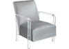 Meade Gray Accent Chair