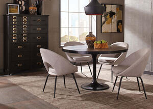Mayberry Gray 5 Pc. Dinette