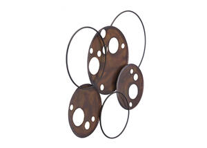 Eyes Wall Decor Brown