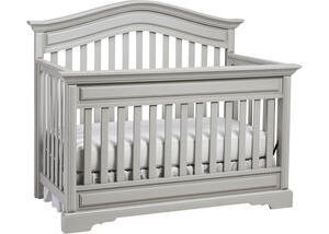 Venezia Misty Gray Convertible Crib by Dolce Babi