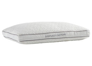 BEDGEAR Stomach Align Queen Dri-Tec Performance Pillow