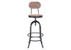 Twin Peaks Bar Chair Natural