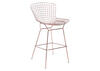 Wire Bar Chair Rose Gold Yellow/gold