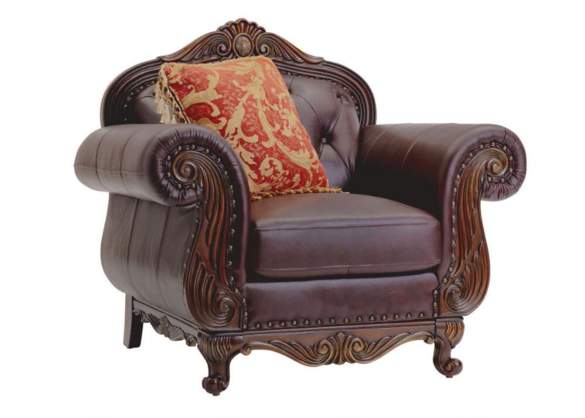 Chair Dark Brown Monte Carlo The Roomplace