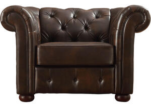 Barrington Faux Leather Chair