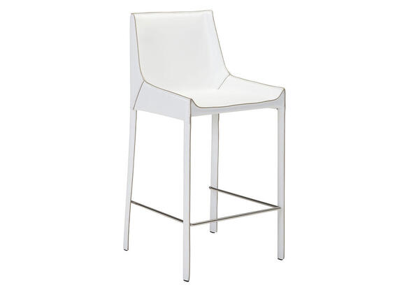 Fashion Bar Chair White White