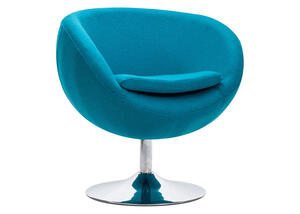 Lund Arm Chair Island Blue Blue