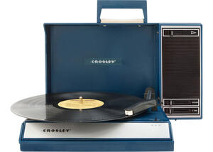 Crosley Spinnerette Blue Turntable
