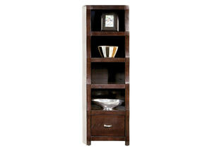 Bookcase Brown Cortland