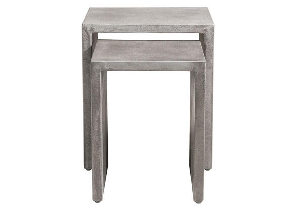 Mom Nesting Side Tables Gray