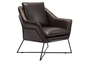 Lincoln Lounge Chair Brown Brown