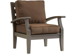 Newport Gray Lounge Chair