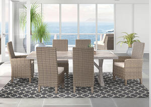 Anchorage 7 Pc. Dinette Beige