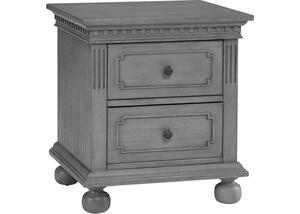 Naples Nantucket Gray Nightstand by Dolce Babi