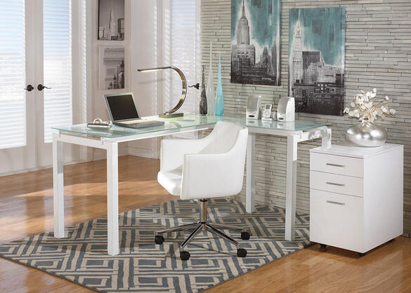 CLAIRE 3PC HOME OFFICE