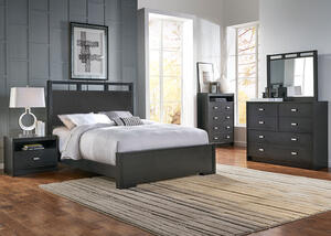 Metro 5 Pc. King Panel Bedroom