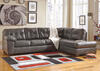MAXIM 2 PC LAF SECTIONAL GRAY