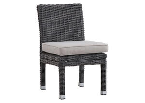 Langstone 2 Pc. Charcoal Side Chair w/Cushions