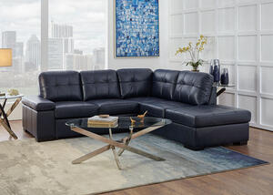 Carlye 2 Pc. Sleeper Sectional (Reverse)