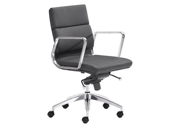 Engineer Black Low Back Office Chair