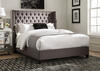 Benicia Gray King Bed by Scott Living