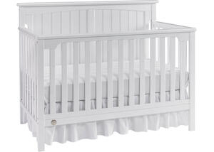 Colton Snow White Convertible Crib by Fisher Price