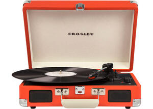 Crosley Cruiser Deluxe Orange Turntable