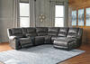 York Slate 6 Pc. Sectional