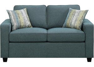 Brownswood Blue Loveseat by Scott Living