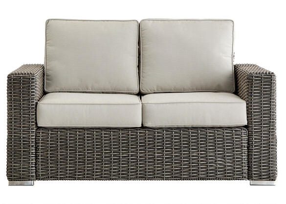 Langstone Charcoal Loveseat