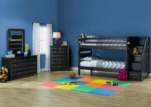 Catalina 5 PC T/T BLK BUNK BDRM W/STRCS