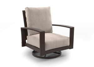 White Cliff 2 Pc. Swivel Chair
