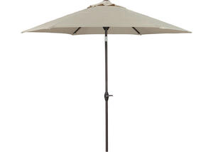 Medium Auto Tilt Umbrella Gray
