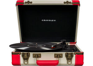 Crosley Executive Red Portable Turntable