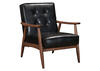 Rocky Black Arm Chair