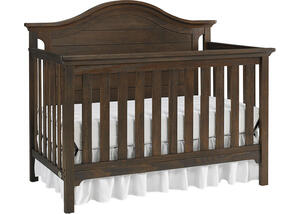 Catania Wire Brush Brown Convertible Crib by Ti Amo