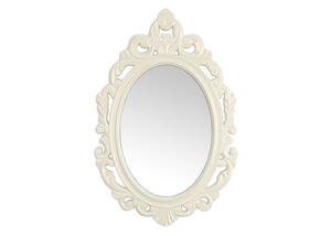 White Baroque Mirror White