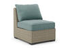 Silvercove Armless Chair Gray