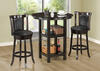 Dayton Cappuccino Swivel Counter Height Stool