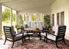 Turtle Bay 5 Pc. Patio Set Gray